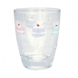 Water Glass Madelyn white