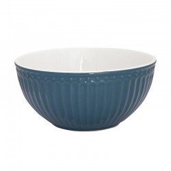 Cereal Bowl Alice Ocean blue
