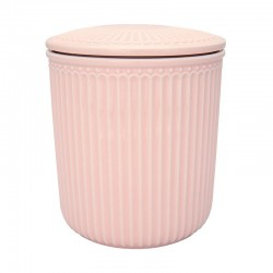 Storage Jar Alice pale pink medium
