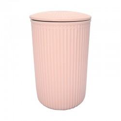 Storage Jar Alice pale pink large
