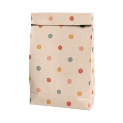 Gift bag, Multi dots small 10pcs