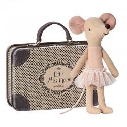 Balerina egér bőrönddel