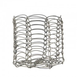 Holder f/cafe glass wire