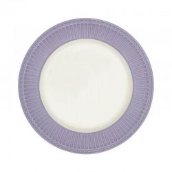 Dinner plate Alice lavender