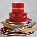 Cereal bowl Alice red