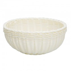 Bread Basket White Medium