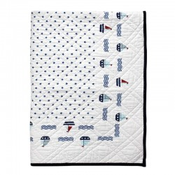 Bed cover Noah white 120×120
