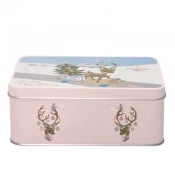 Rectangular box Bambi pale pink