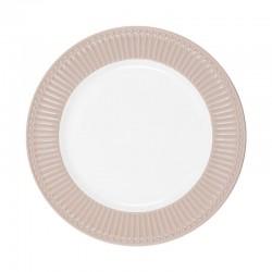Dinner plate Alice creamy fudge