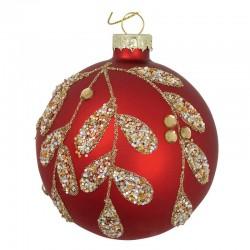 Christmas ball Charline red
