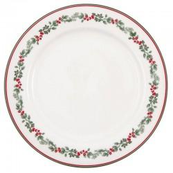 Dinner Plate Charline White