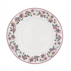 Small Plate Ellie white