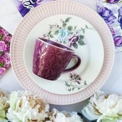 Porcelán kistányér Maude White