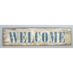 Metal sign - Welcome
