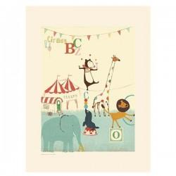 Poszter Cirkuszi állatok
