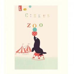 Poster Le Circus Zoo