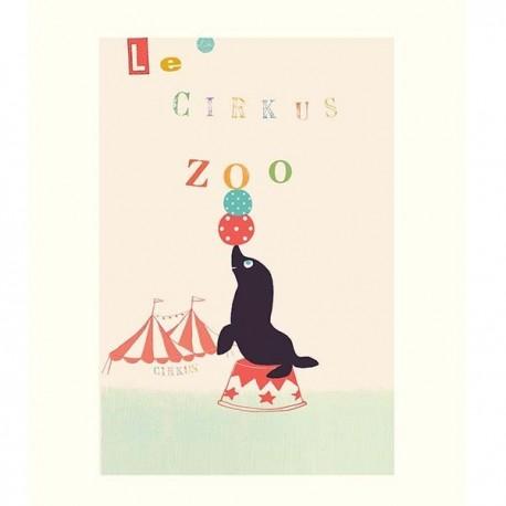 Poszter Le Circus Zoo