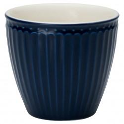 Kerámia Alice dark blue latte bögre
