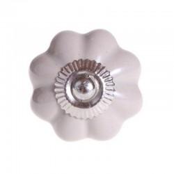 Bútorfogantyú Porcelán Sarah szürke