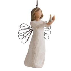 Karácsonyfadísz A remény angyala