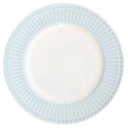 Kerámia mini tányér Alice pale blue