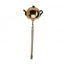Tea Infuser Teapot gold