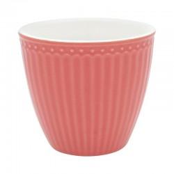 Kerámia latte bögre Alice coral