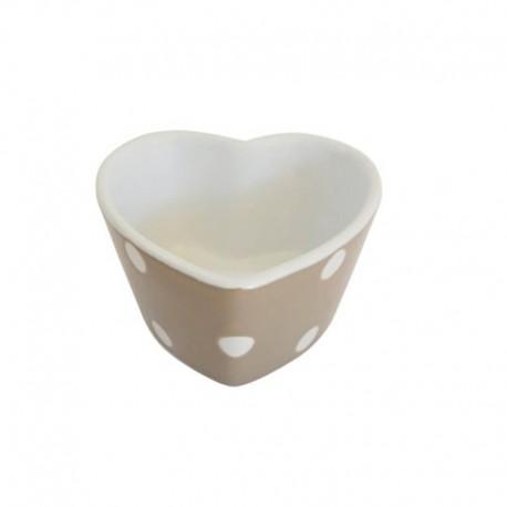 Sütőforma, szív alakú Spot beige