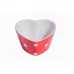 Sütőforma, szív alakú Spot red