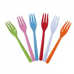 Set of 6 Melamine Forks...