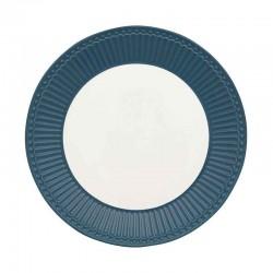 Plate Alice Ocean blue