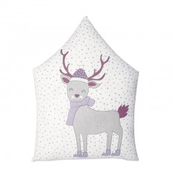 Cushion Cover Deer Lavender...