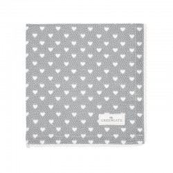 Cloth Napkin Penny grey
