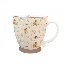 Porcelain Mug Forest Beige 400ml