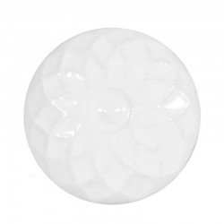 Porcelain knob white
