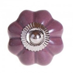 Porcelain Knob Sarah purple