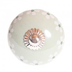 Porcelain knob Flower mint