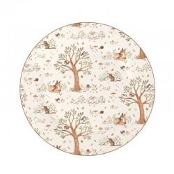 Porcelán tányér Forest Friends
