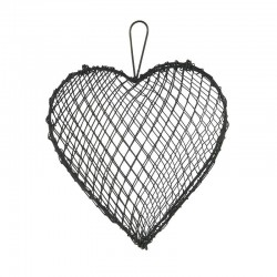 Heart for hanging wire can be opened