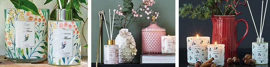 Scented candle and Diffuser - Skandi Trend