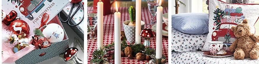 Karácsonyi dekorációk, karácsonyfadíszek - Skandi Trend