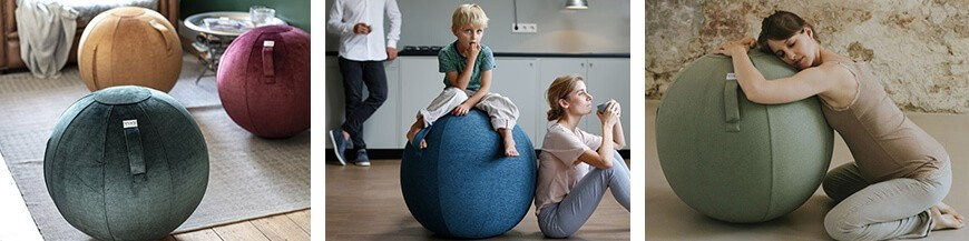 Felt Seating Balls by Vluv - Skandi Trend