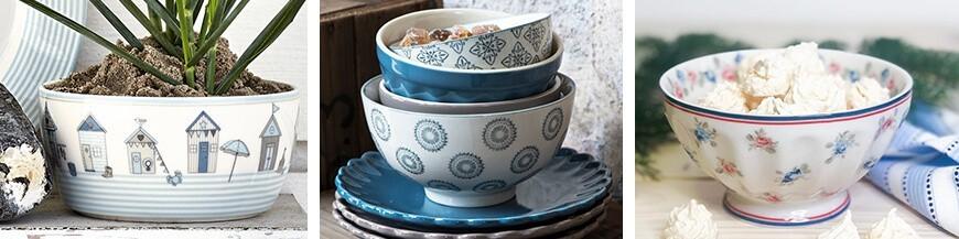 Porcelán leveses tálak - Skandi Trend