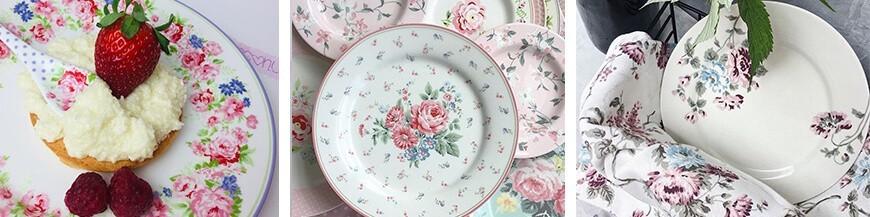 Porcelán tányérok - Skandi Trend