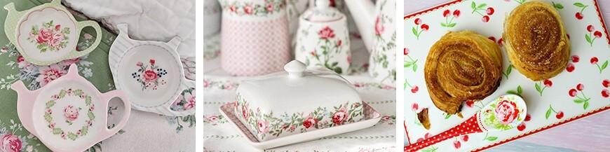 Porcelán kiegészítők - Skandi Trend