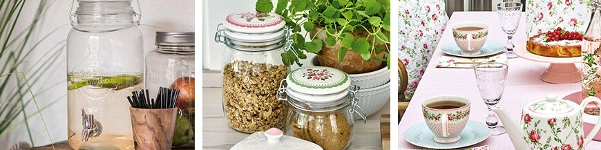 Storage Jars - Skandi Trend