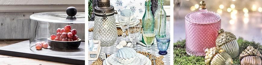 Elegant Glass Items - Skandi Trend