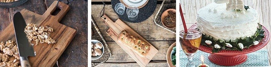 Chopping board and Etageres - Skandi Trend