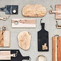 Chopping board and Etageres